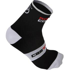 Castelli Rossocorsa 9 Cycling Socks white/black